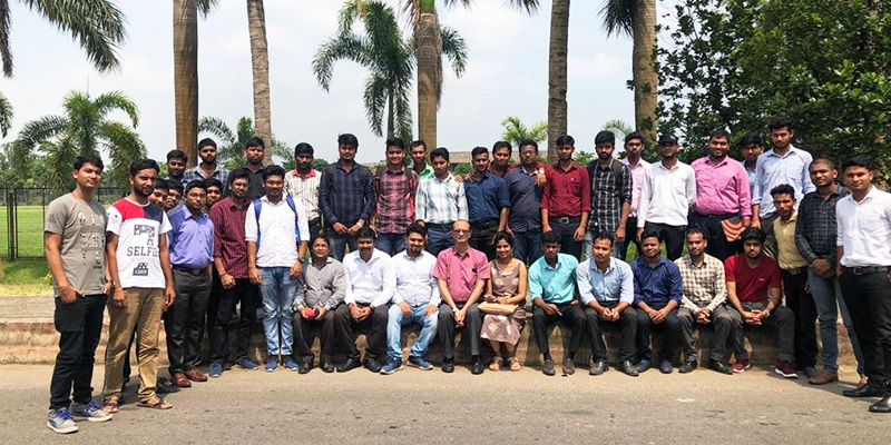 Induction Training 2019 Batch - Team JBS recruiting budding Engineers at Campus placement in Cuttak and Bhubaneshwar