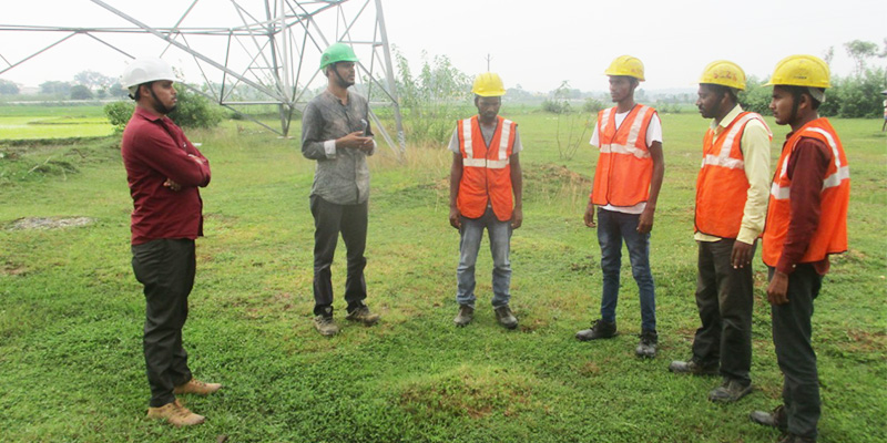 Safety Training at Various Site
