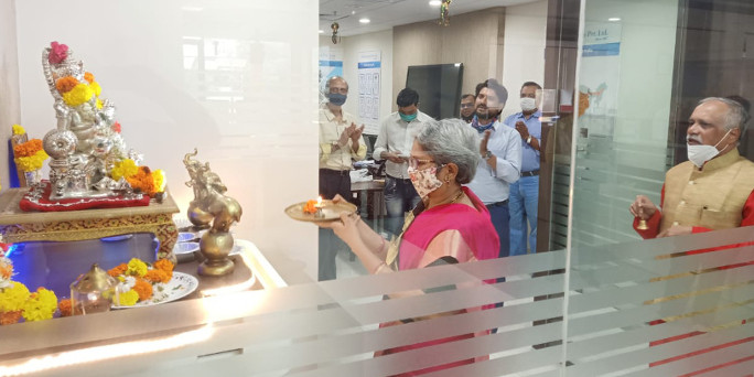 Diwali Celebration 2020 at Head Office