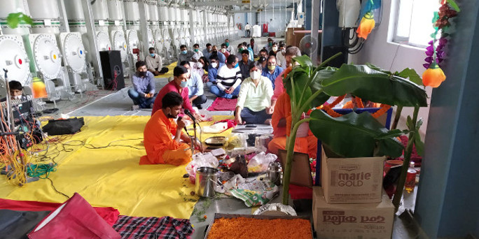 Vishwakarma Puja & Dussehra Celebration at Site 2020